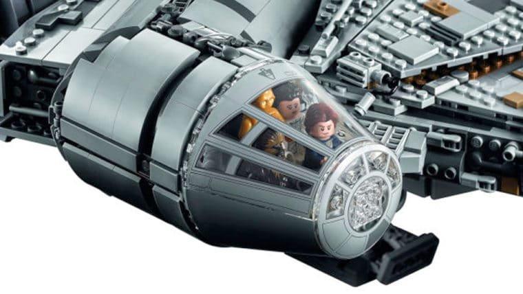 Atravesse a Galáxia em 12 parsecs com esse LEGO gigante da Millenium Falcon