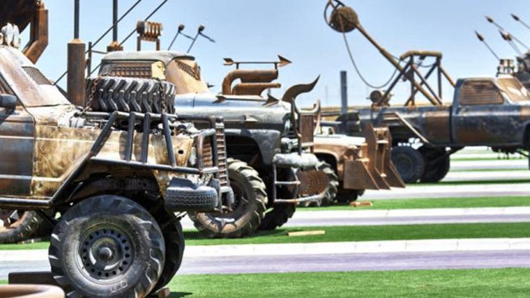 Testemunhe este parque de food-trucks temático de Mad Max!