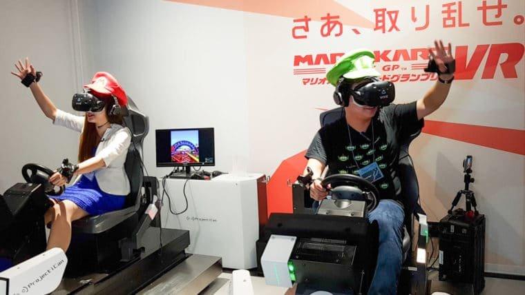 Veja o Mario Kart para realidade virtual em ação
