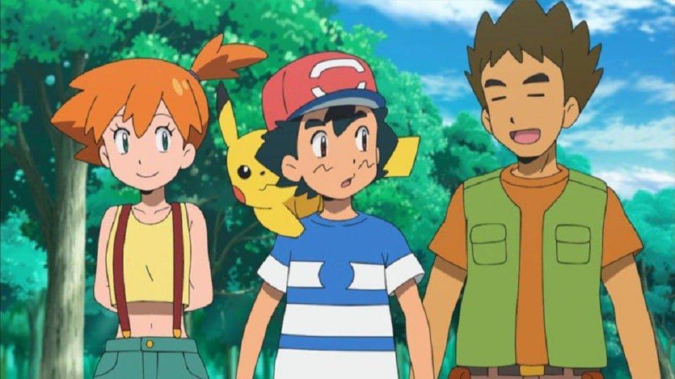 Misty e Brock estão de volta ao anime de Pokémon