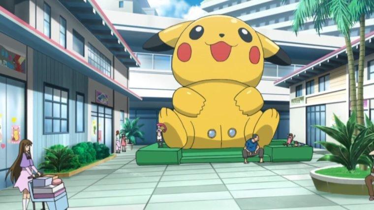 Aquele pula-pula sugestivo em formato de Pikachu apareceu no anime