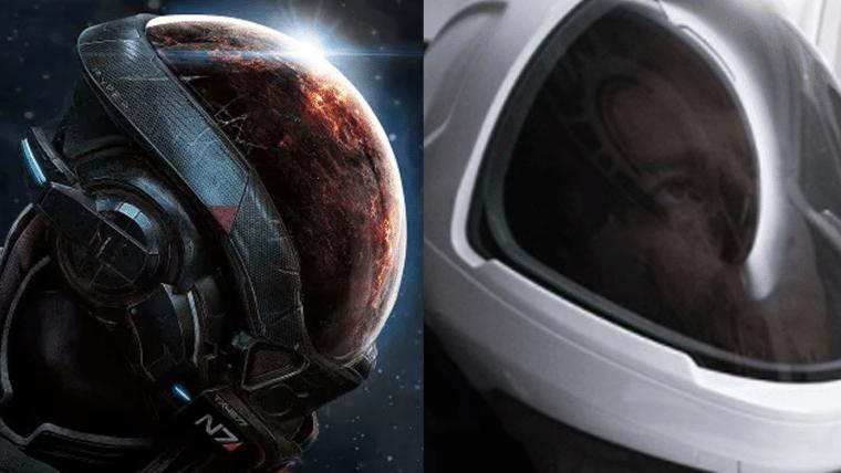 Elon Musk indica que trajes da SpaceX foram inspirados em Halo e Mass Effect