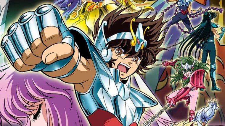Cavaleiros do Zodíaco ganhará edição remasterizada em Blu-Ray no Brasil