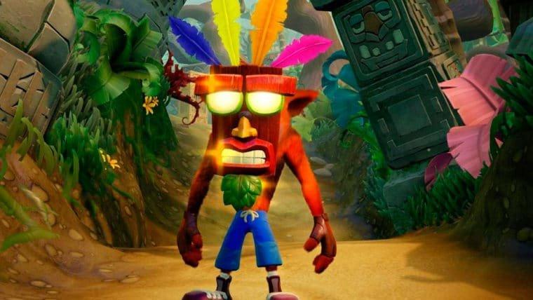 Crash Bandicoot lidera listas de jogos mais vendidos da PS Store pelo segundo mês