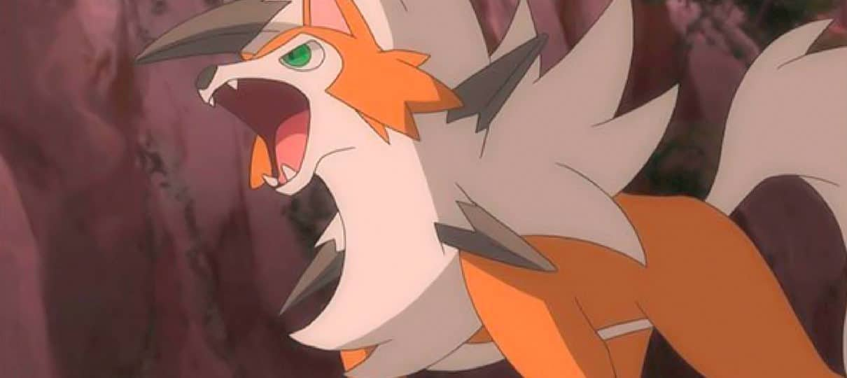 Pokémon Ultra Sun e Ultra Moon revela nova forma de Lycanroc