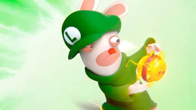 Mario + Rabbids: Kingdom Battle apresenta as habilidades de Rabbid Luigi em novo trailer
