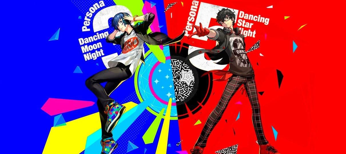 Persona 3 Dancing Moon Night e Persona 5 Dancing Star Night ganham novos trailers