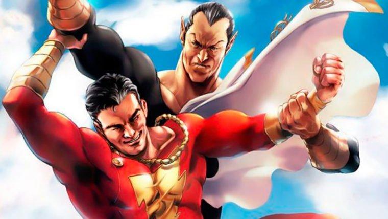 Shazam!   Diretor confirma que Adão Negro estava em versões anteriores do roteiro