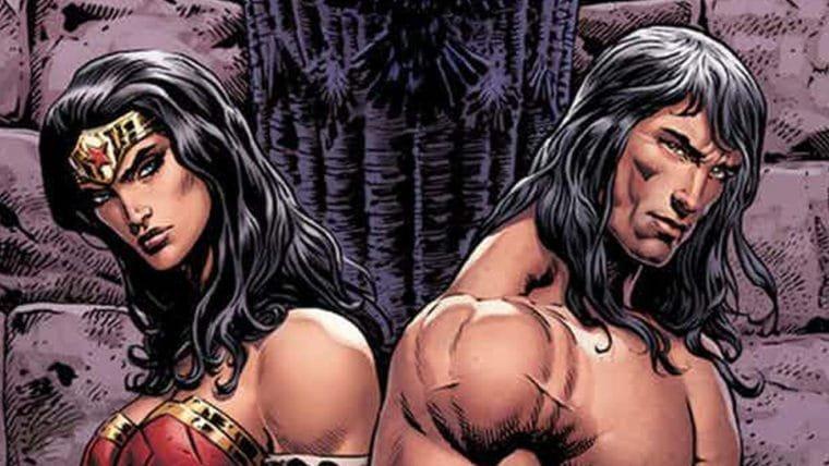 Mulher-Maravilha e Conan se encontram em HQ
