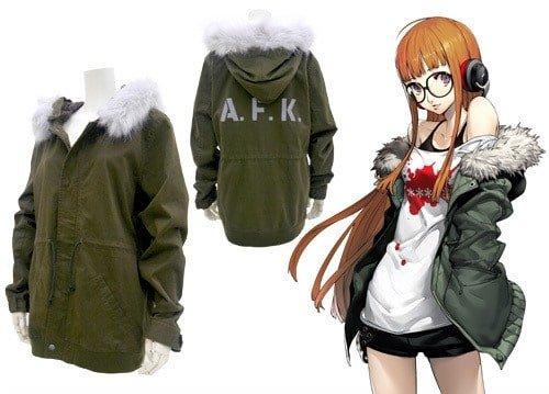 Loja anuncia moletom da Ann e jaqueta da Futaba de Persona 5