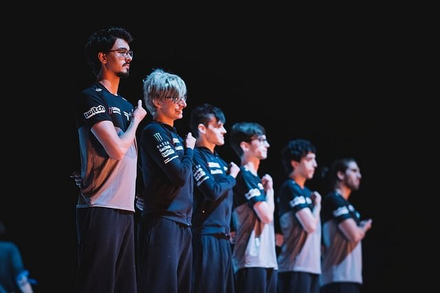 paiN Gaming faz gesto de Attack on Titan na final do CBLoL 2017