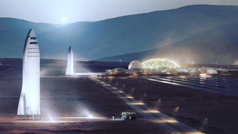SpaceX divulga planos para colônias em Marte; primeiras missões chegam ao planeta em 2022