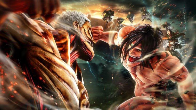Attack on Titan 2 ganha janela de lançamento mundial e versão para Nintendo Switch