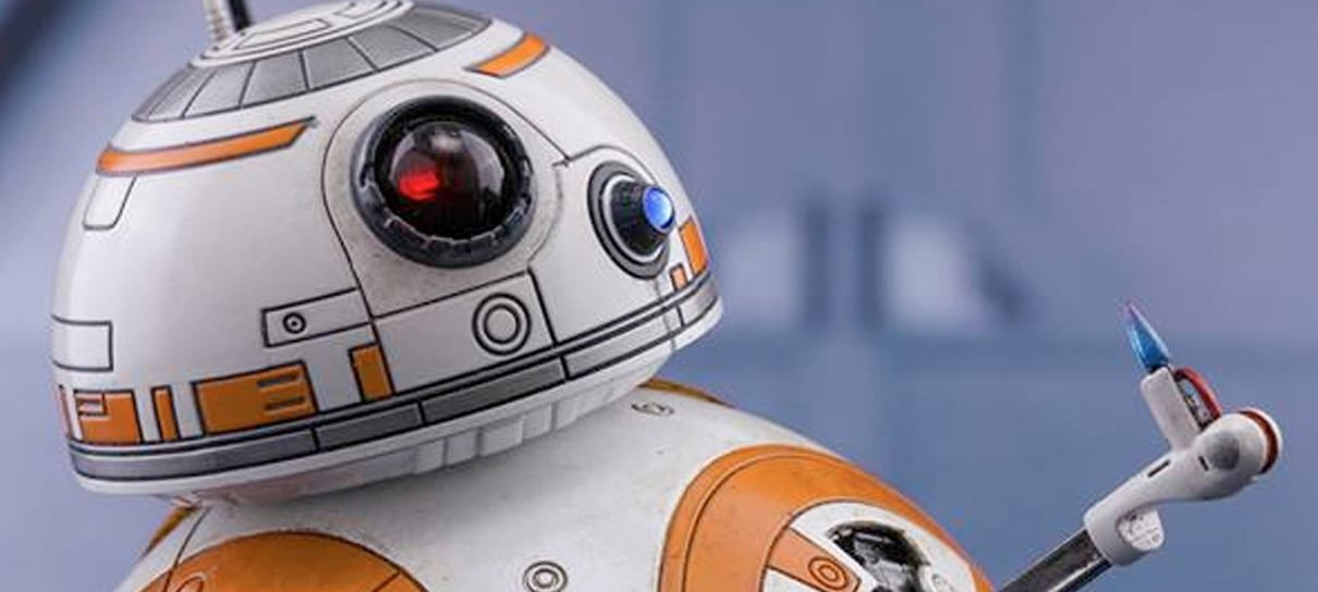 Essa action figure do BB-8 está pronta para ajudar a Resistência!
