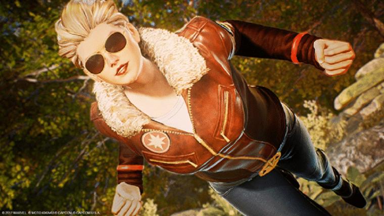 PS4 terá visual exclusivo de Capitã Marvel para Marvel vs. Capcom: Infinite