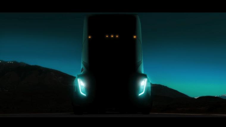 Elon Musk apresenta primeira foto do caminhão da Tesla