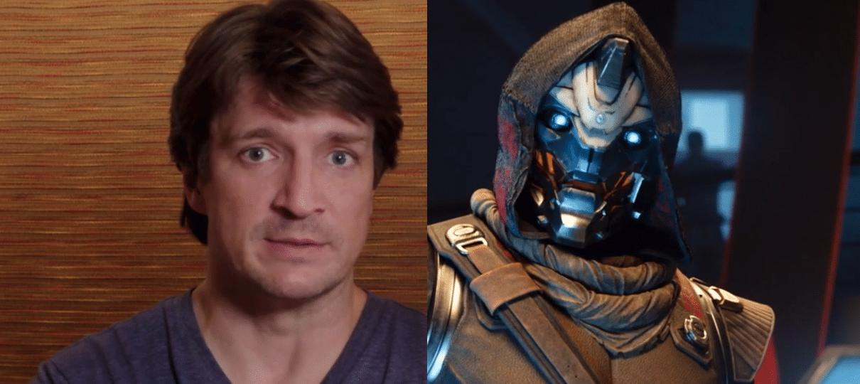 Destiny 2   Veja os bastidores da dublagem com Nathan Fillion, Lance Riddick e outros