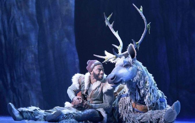 Por uma vez na eternidade, as fotos do musical de Frozen, na Broadway, livres estão