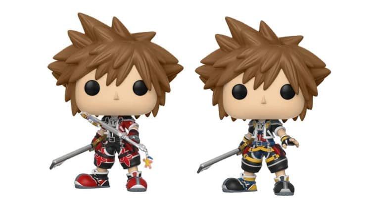 Kingdom Hearts ganha segunda linha de Funko Pop!s e miniaturas