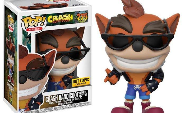 Crash Bandicoot ganha linha de Funko Pop!