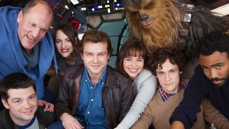 Ron Howard publica fotos inéditas das filmagens do filme de Han Solo