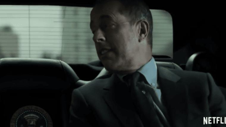 Jerry Seinfeld e Frank Underwood se encontram em vídeo