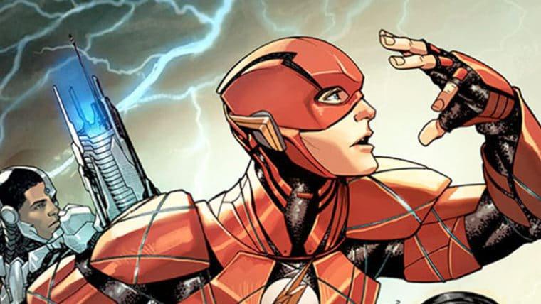 HQs da DC vão ganhar capas variantes para promover o filme da Liga da Justiça