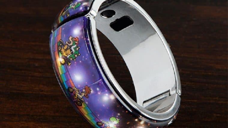 Brilhe em Rainbow Road com esse bracelete