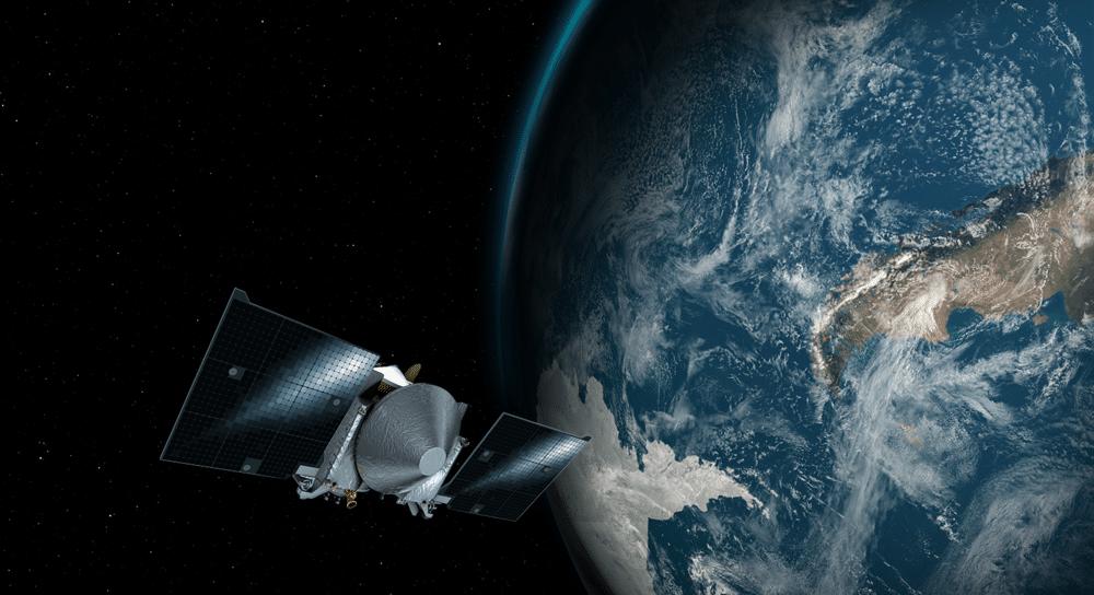 Uma sonda espacial pegou um empurrãozinho na gravidade da Terra hoje (22)