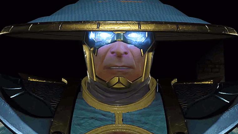 Raiden é apresentado em novo vídeo de Injustice 2