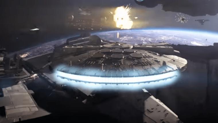 Star Wars Battlefront II | Novo trailer mostra Millennium Falcon em ação; assista