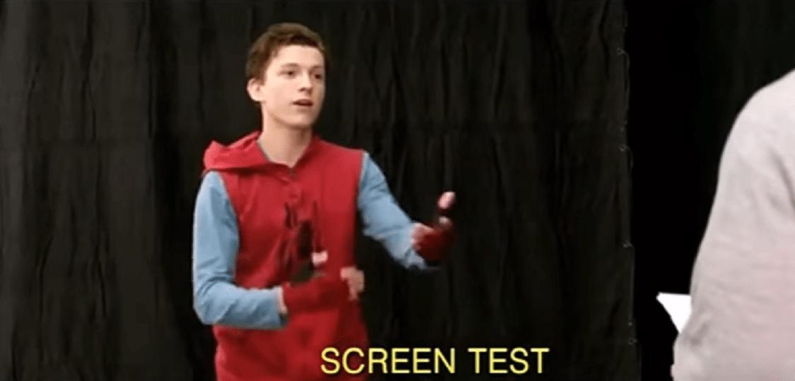 Assista aos erros de gravação e testes de Tom Holland para interpretar o Homem-Aranha