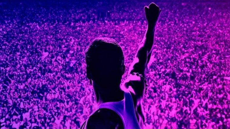 Freddie Mercury comanda o público em novo pôster de Bohemian Rhapsody