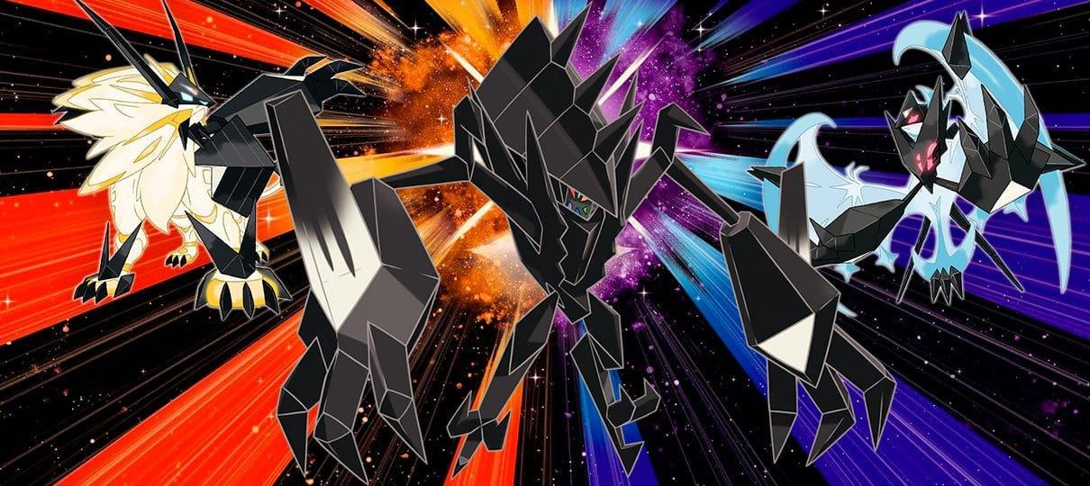 Pokémon Ultra Sun e Moon | Revelados detalhes sobre os lendários dos novos jogos