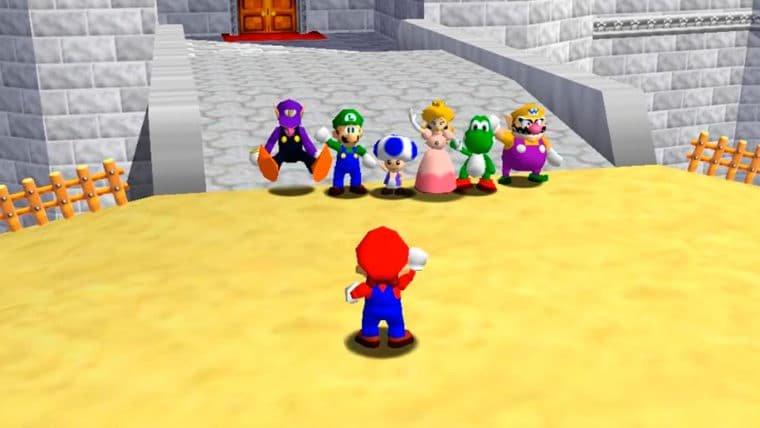 Fãs criam versão de Super Mario 64 para jogar online com até 24 pessoas!