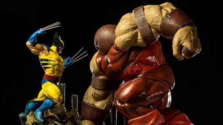 Wolverine enfrenta o Fanático em diorama da Iron Studios