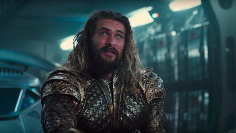 Jason Momoa anuncia o fim das filmagens de Aquaman