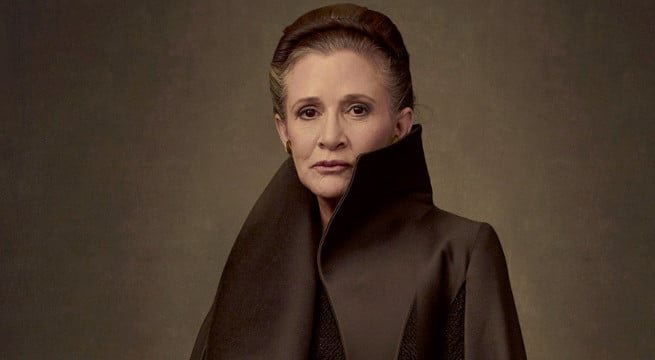 Star Wars: Os Últimos Jedi   Diretor fala sobre envolvimento de Carrie Fisher no roteiro