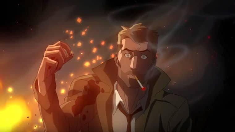 Constantine   Confira o trecho da animação revelado na NYCC 2017
