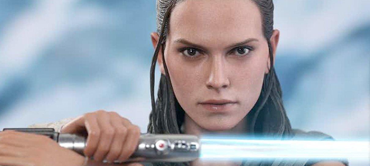 Star Wars: Os Últimos Jedi | Hot Toys da Rey vem acompanhado da fofura dos Porgs!
