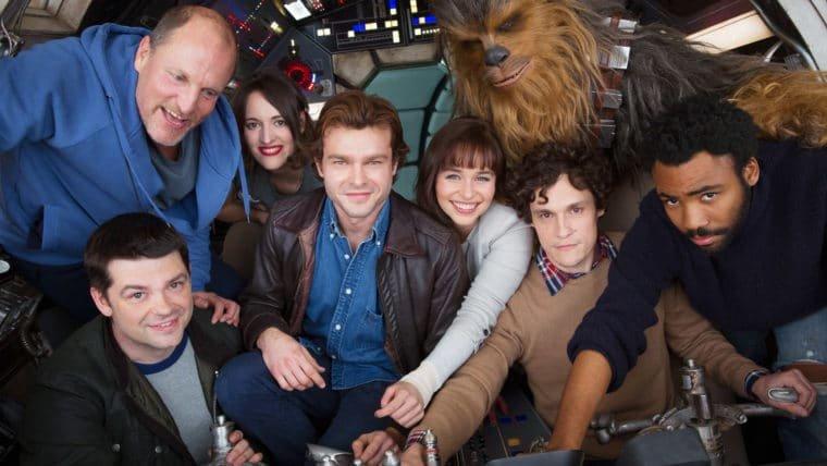Solo - Uma História Star Wars | Ron Howard celebra o fim das filmagens