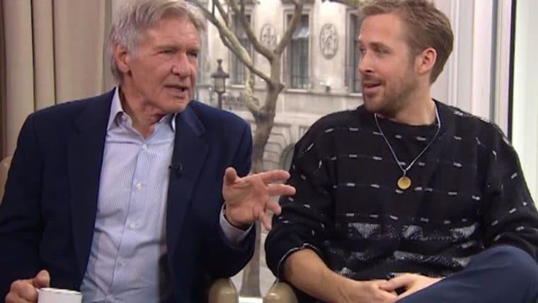 Blade Runner 2049 | Harrison Ford e Ryan Gosling não conseguem parar de rir em entrevista