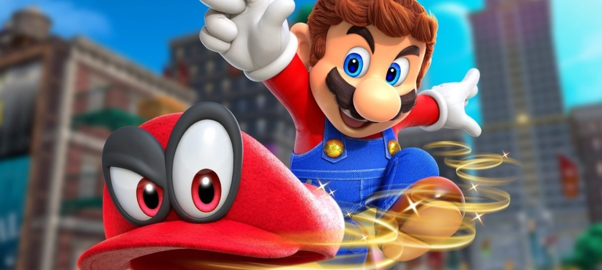 Super Mario Odyssey é o game mais bem avaliado de todos os tempos