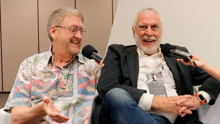 Entrevistamos Nolan Bushnell e David Crane, duas lendas da indústria dos jogos