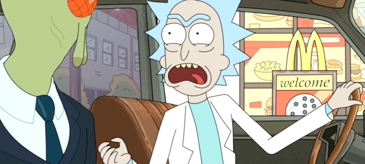 Rick and Morty   Quantidade limitada de molho szechuan causa caos em McDonald's nos EUA