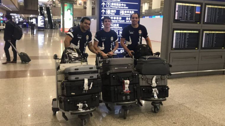 Equipe brasileira RioBotz vai participar de competição de robôs de combate na China