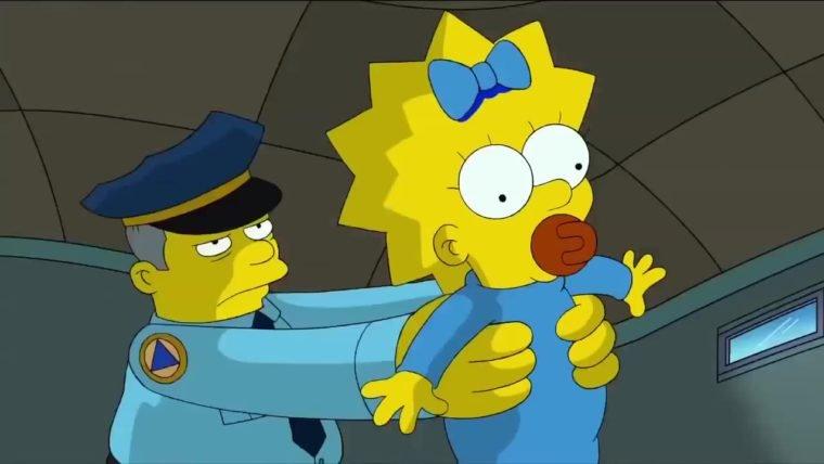Maggie vai falar em episódio de Halloween de Os Simpsons