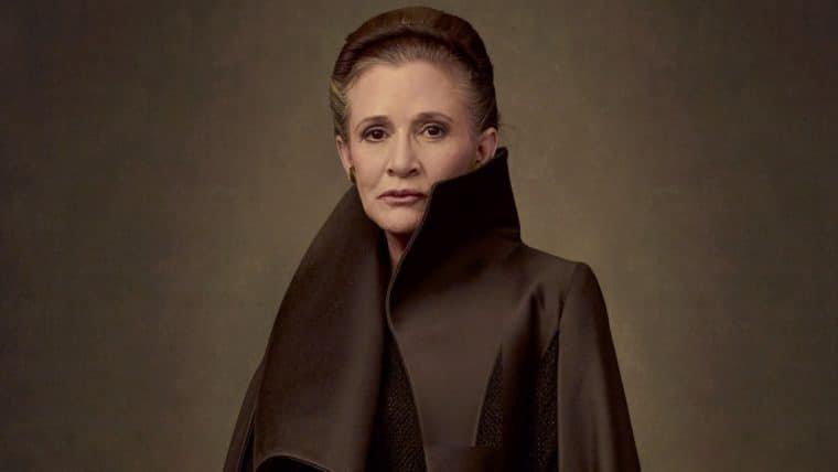 Star Wars | Rian Johnson fala que cenas de Leia em Os Últimos Jedi serão muito emotivas