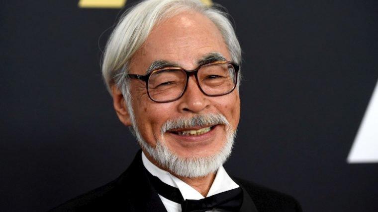 Hayao Miyazaki saiu da aposentadoria para fazer filme para seu neto