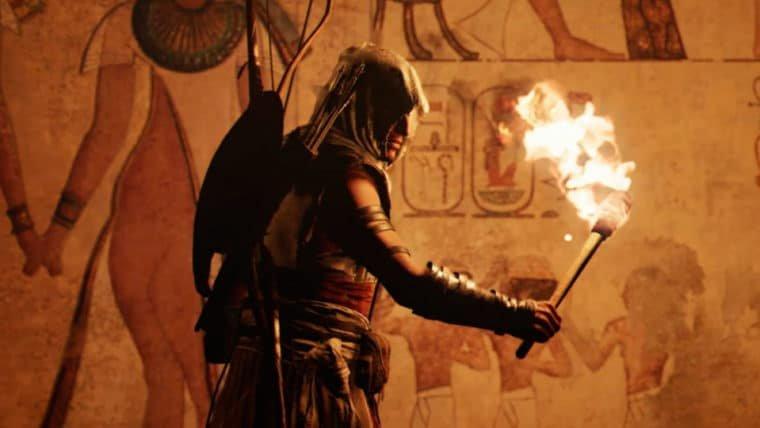 Assassin's Creed Origins ganha novo trailer, gameplay e vídeos